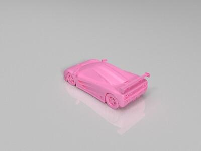 迈凯轮F1赛车模型-3d打印模型