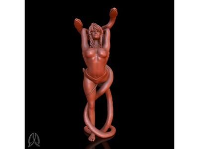 瑜伽,女,手办-3d打印模型