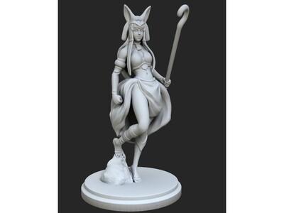 女神,手办,埃及皇后-3d打印模型