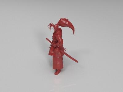 侍魂 霸王丸-3d打印模型