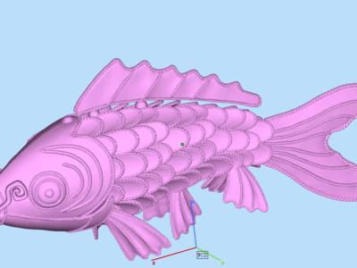 大海锦鲤鱼-3d打印模型