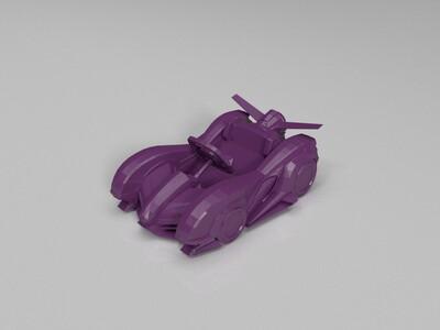 跑跑卡丁车-棉花糖HT-3d打印模型