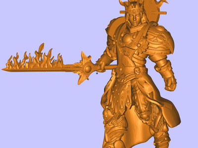 战锤 刀兵-3d打印模型