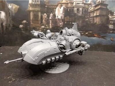 战锤 悬浮战车-3d打印模型