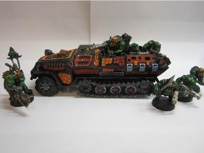 战锤 兽人卡车-3d打印模型