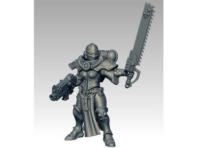 战锤 战斗修女-3d打印模型