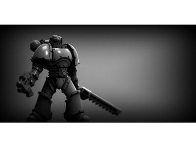战锤 兵人-3d打印模型