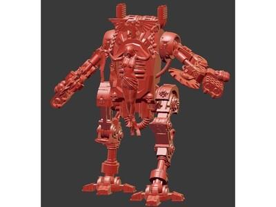 战锤风格机甲-3d打印模型