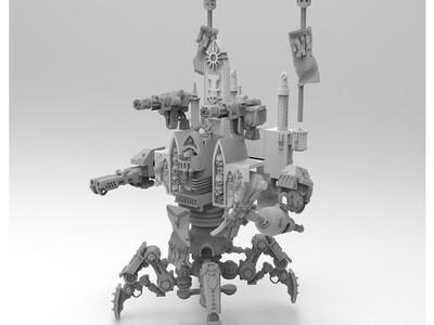 战锤 机甲1-3d打印模型