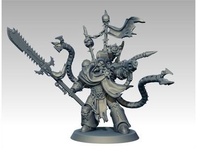 战锤 机械触手士兵-3d打印模型