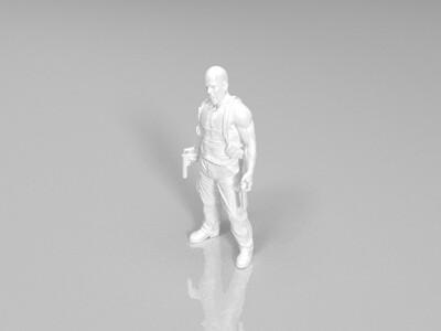 布鲁斯威利斯 Bruce Willis-3d打印模型