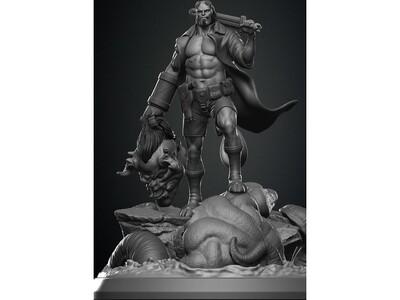 地狱男爵-3d打印模型