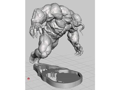 毒液 Venom-3d打印模型