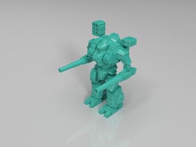 机甲战士-3d打印模型