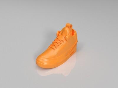 篮球运动鞋-3d打印模型
