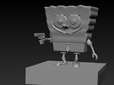 海绵宝宝特工-3d打印模型