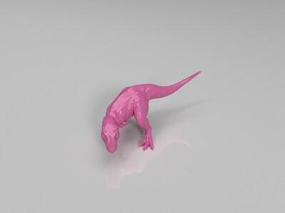 雷克斯暴龙-3d打印模型