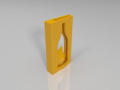 瓶内造船-3d打印模型
