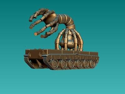 机器抓-3d打印模型