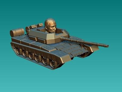 普京特工-3d打印模型