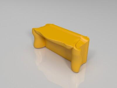 古典沙发-3d打印模型