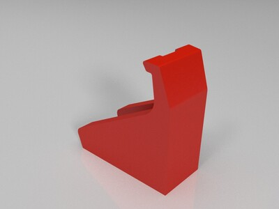 ps4 switch游戏机手柄壁挂件-3d打印模型
