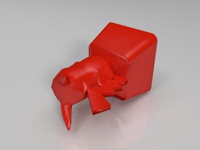 机械键盘 键帽-3d打印模型