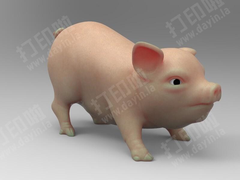 小猪-3d打印模型