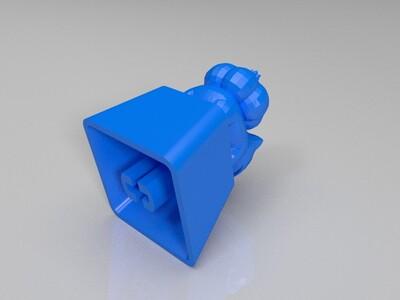 妙蛙种子键帽-3d打印模型