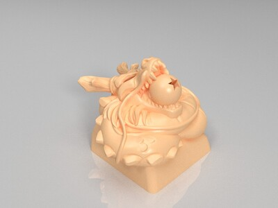 七龙珠键帽-3d打印模型
