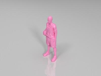 樱木花道-3d打印模型