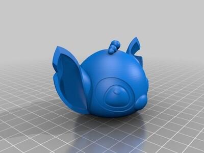 史迪仔3D打印模型-3d打印模型