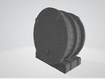 桌游-鼓-3d打印模型