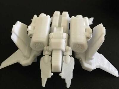 星际争霸 可变形飞机机器人-3d打印模型