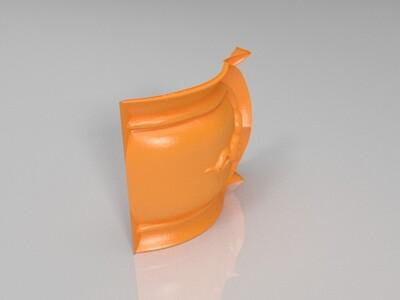 莲花瓣-3d打印模型
