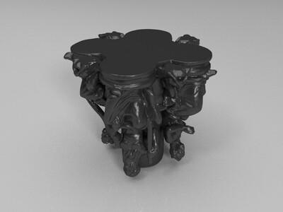 罗马人-3d打印模型