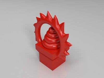 屎蛋蛋 粑粑-3d打印模型