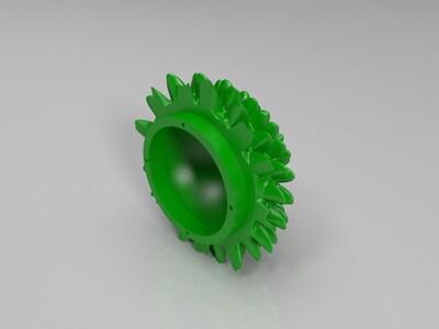 莲花摆件模型3D打印-3d打印模型