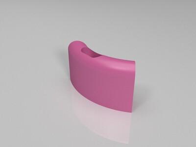 USB手环插件-3d打印模型