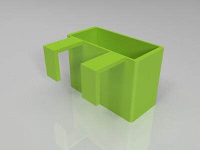 床头置物架-3d打印模型