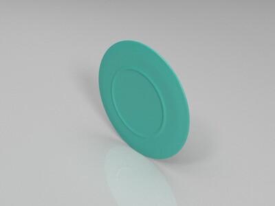龙凤盘-3d打印模型