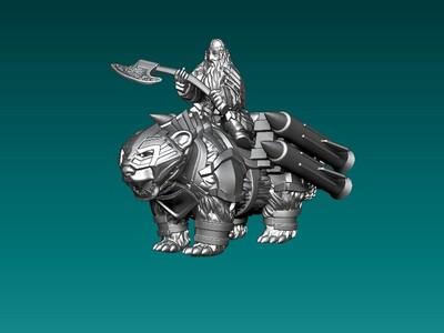超级进化骑士和怪兽-3d打印模型