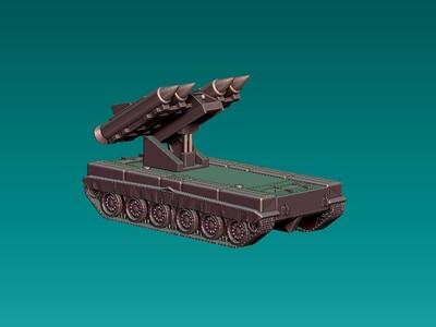 智能火箭炮两件-3d打印模型