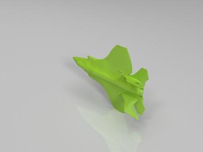 新型隐身战机-3d打印模型