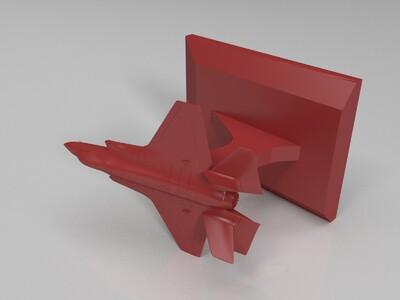 f35摆件 挂件-3d打印模型