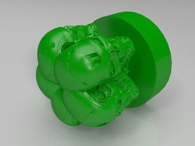 五面怪摆件 挂件-3d打印模型