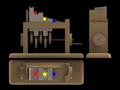 自动上料机-3d打印模型