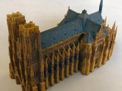伊斯兰大教堂-3d打印模型