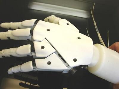 机器人手臂-3d打印模型