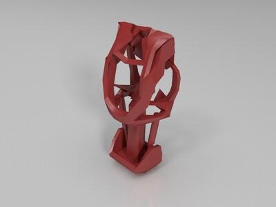 终结者  ver9 身子-3d打印模型